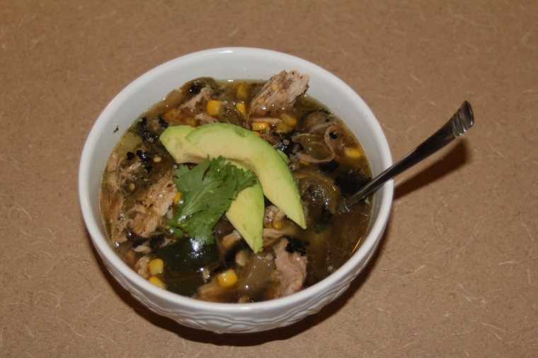Carnitas Hatch Chili Soup